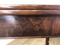 Antique 19th Century Mahogany Fold Over Side Table (4 of 14)