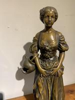 Spelter Figure of a Water Carrier (4 of 6)