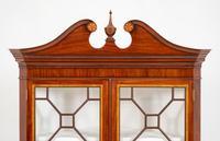 Mahogany Sheraton Revival Double Corner Cupboard (7 of 8)