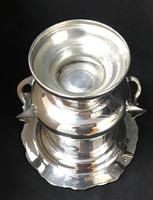 Large Silver Plated Two Handle Ice / Wine / Champagne Bucket (3 of 5)