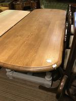 Solid Oak Refectory Table (8 of 9)
