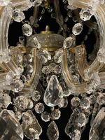 10 Light Italian Marie Theresa Antique Chandelier (10 of 14)