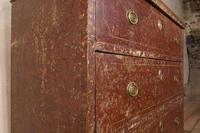 18th Century Gustavian Original Painted Commode - Red (9 of 15)