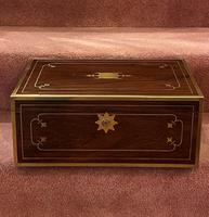 Good Quality Rosewood Writing Slope / Box by the Famous Maker William Eyre (2 of 12)