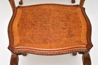Queen Anne Style Burr Walnut Nest of Tables (7 of 8)