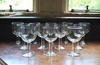 Set of 12 Wine Glasses (2 of 5)