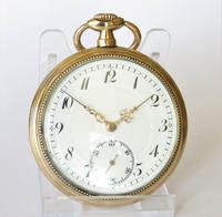 Antique Gold Plated Pocket Watch (2 of 5)