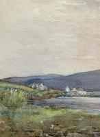 Andrew Gamley RSW - A Lochside Village Watercolour Painting (7 of 12)
