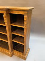 Victorian  Breakfront Bookcase (2 of 11)