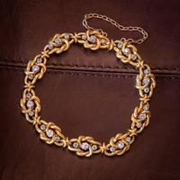 Antique French Diamond Bracelet 18ct Gold 2.20ct Of Diamond c.1900 (6 of 6)