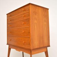Vintage Walnut Chest of Drawers by Alfred Cox (6 of 9)