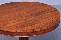 Quality George IV Rosewood Occasional Table (2 of 5)