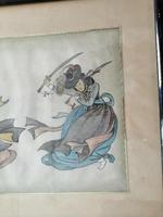Lovely 19th Century Chinese Watercolour (4 of 6)