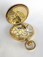 1920s Record Full Hunter Pocket Watch Originally Retailed by Kendal & Dent London (6 of 6)