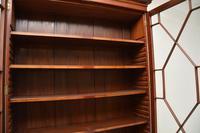 Antique Georgian Period Mahogany Library Bookcase (6 of 10)
