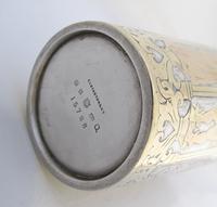 Victorian gothic electro-type and gilt beaker Elkington & co Birmingham 1877 (3 of 9)