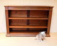 Substantial Oak Open Bookcase (3 of 9)