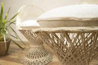 Pair of Mid 20th Century Russell Woodard Wicker Effect Side Chairs - Patio (3 of 11)