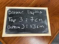 Very Rare Double Military Chest of Drawers (17 of 21)