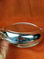 Antique Silver Plate James Dixon & Son Art Deco Serving Dish & Lid C1920 (7 of 10)