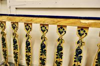 Hand Painted Wooden Railings from a Fair Ground (4 of 11)