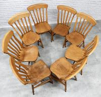 Set of 8 Antique Windsor Kitchen Chairs (2 of 6)