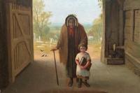 'Sunday Morning' An Enchanting Original 19thc Portrait Oil Painting' (6 of 14)