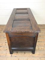 18th Century Carved Oak Blanket Box (10 of 11)