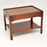 Pair of Georgian Style Mahogany Side Table c.1950s (5 of 12)