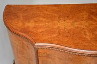 Antique Queen Anne Style Burr  Walnut Cabinet c.1920 (4 of 8)