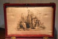 Fine Regency Leather Work Box (3 of 14)