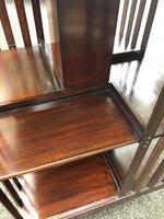 Edwardian Mahogany Revolving Bookcase (9 of 9)