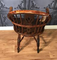 Low Back Ash & Elm Windsor Chair (2 of 8)