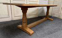 Oak Farmhouse Refectory Dining Table (13 of 17)