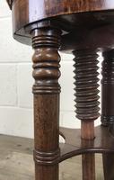 Antique Victorian Walnut Piano Stool (2 of 9)