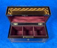 Victorian Rosewood & Tunbridge Ware Inlaid Scent Box (5 of 6)