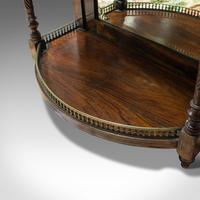 Antique Butler's Mirror, English, Rosewood, Dome Top, Wall, Victorian c.1880 (10 of 11)