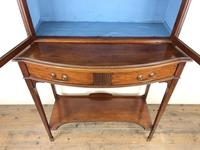 19th Century Glazed Mahogany Bookcase on Stand (3 of 10)
