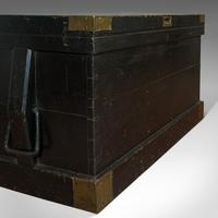 Antique Master Shipwright's Chest, English, Mahogany, Tool Trunk, Victorian (8 of 12)