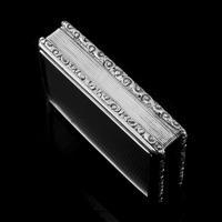 Rare Antique Georgian Solid Silver Mazeppa Snuff Box - Edward Smith 1836 (9 of 23)