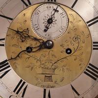 Antique Mahogany Longcase Clock (10100) (7 of 12)