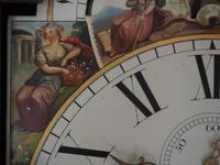Fine English Longcase Clock John Fenton Congleton 8-day Striking Grandfather Clock Solid Mahogany Case (14 of 16)
