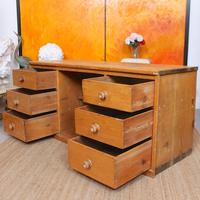 Pine Dresser Base Sideboard 19th Century Desk Country Victorian (3 of 8)