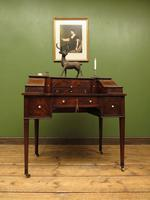 Antique 19th Century Carlton House Desk Mahogany Writing Table of Immense Character (29 of 30)