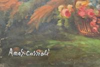 After Amos Cassioli - Large 20th Century Oil on Canvas Painting (11 of 12)