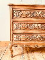 French Antique Style Small Chest of Drawers (3 of 4)