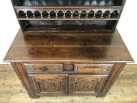 Gothic Antique Carved Oak Dresser (7 of 10)