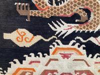 Antique Tibetan Dragon Rug (5 of 9)