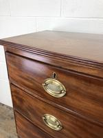 19th Century Mahogany Bow Front Chest of Drawers (15 of 18)