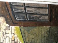 """Fine Oil Painting Architectural Entrance """"Micklegate Bar"""" York Signed F Chilton (24 of 31)"""